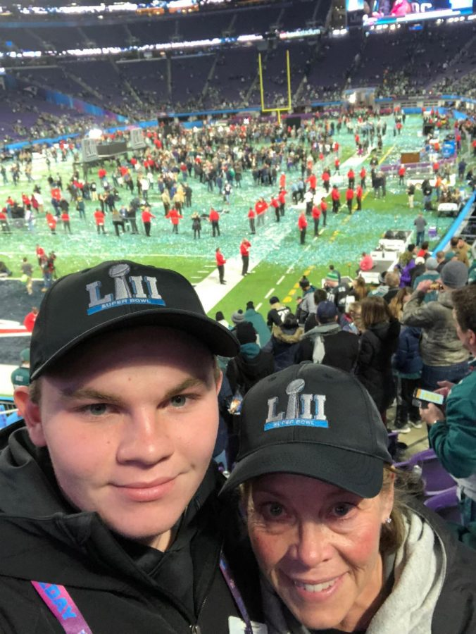 Working At Super Bowl LII