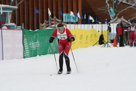 Nordic Skier Soars Past the Competition